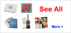 Show All 50th Birthday Gifts