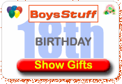 Boys Stuff 18th Birthday Gift Ideas