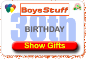 30th Birthday Gifts At BoysStuff