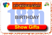 Firebox Gift ideas for 18th birthday