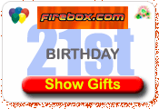 Firebox Gift ideas for 21st birthday