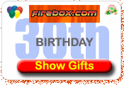 30th Birthday Gifts At Firebox