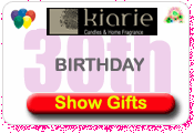 30th Birthday Gifts At Kiarie