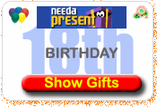 Need A Present 18th Birthday Gift Ideas