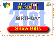 Need A Present 21st Birthday Gift Ideas