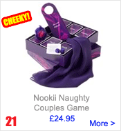 21st Birthday Gifts - Naughty Nookii Game
